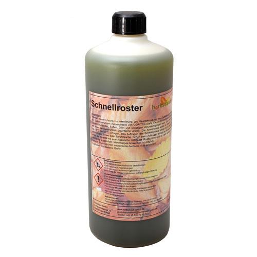 Schnellroster Flasche mit 1,0 Liter Inhalt