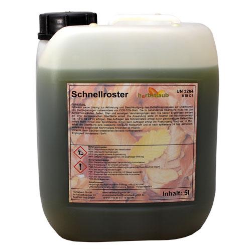 Schnellroster Kanister mit 5 Liter Inhalt